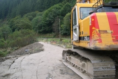 … which completes the earthworks on Phase 2 of the Pont y Goedwig Deviation Project.