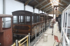 … following which, the set is re-formed to put the two lined carriages together …