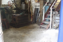 … which has cleared a large space in the Engine Shed.
