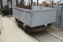 Adrian has been working on the Drop Side Heritage waggon body …