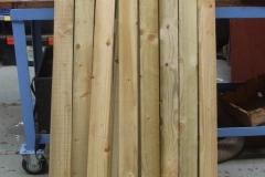 … for fence palings …