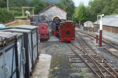 … so runs round the other locos so that it does not block them in if it can't be started tomorrow.