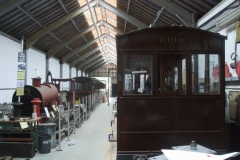 Seeking overtime, Charles is still fixing glass as the carriages are put away!
