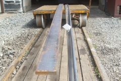 … joined by a delivery of steel for waggon, S&T and No. 10 brake gear use.