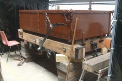 """Thursday, 10.6.2021. Heritage waggon No. 5 has had body and frames """"reunited"""" …"""