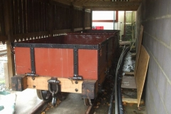 While shunting moves are going on, it allows the Waggon Shelter to perform its designed task!