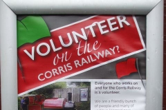 ... and volunteering on the Railway.