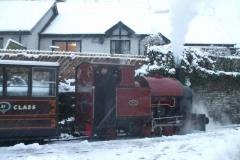 … the train to return towards Maespoeth to be put away.