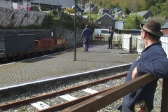 … before returning to Corris preparatory to operating a gravity train.