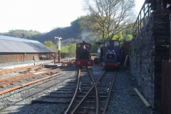 … which make No. 7 look like it is in steam, but in reality, purely to release loco No. 6 for tomorrow.