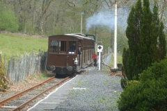 Friday, 14.5.2021. More videoing today, this time featuring No. 11, here heading towards Corris from Maespoeth.