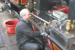 Meanwhile, Trefor has moved on to loco No. 7 …
