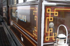 … painting has commenced on the repaired woodwork of carriage No. 21 …
