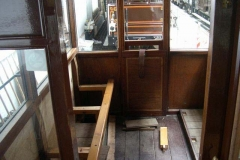 … the seats in the south compartment of carriage No. 20 have almost completely disappeared …