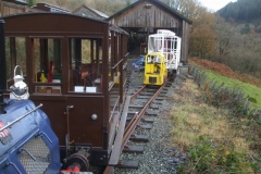 … so that carriage No. 20 can be positioned ready for attention to paint work.