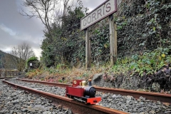 Friday 25th December… NadoligLlawen-Happy Christmas, at Corris Station.