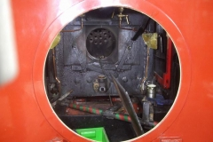 … to gain access to the back plate of the boiler.