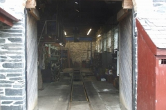 It is unusual these days, to see the Engine Shed so empty!