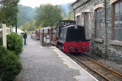 … to depart back to Corris.