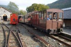 The train arrives at Maespoeth …