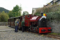No.7 north of the platform at Corris.....