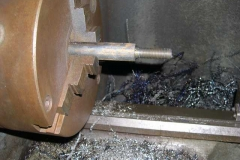 …while in the Engine Shed, further work has been undertaken on one of the brake rods.
