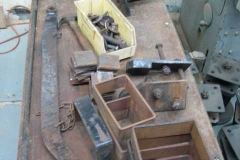 With thoughts of restoring a heritage waggon, parts have been collected together and a start made on cleaning them up.