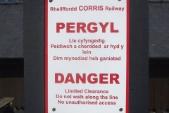 … and replacement contour printed signs have been erected where earlier versions have faded in the sun.