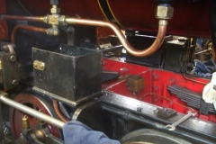 … and shortly afterwards, Phil has re-fitted the boxes on No. 7's frames – what a difference 32mm makes!