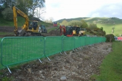 … as well as the first items of machinery – the start of work in earnest on the new bridge scheme must be imminent!