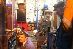 … with Trefor and Richard puzzling over why the brakes suddenly ceased to operate on No. 7 as they approached the carriages.