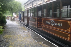 Sunday, 26.7.15. What a contrast to yesterday! Persistent rain & drizzle, and No. 7 replaced by No. 6 at the last minute …