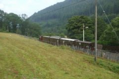 """… to run a train up to Corris for an """"Inside Track"""" Charter …"""