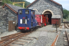 Jack draws No. 7 out of the Engine Shed …