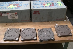 A fresh consignment of axlebox covers have been delivered for carriages 23 & 24 …