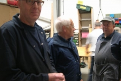 Andy, Mike and Ian discuss progress on the carriages …