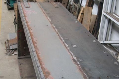Friday, 24.6.2016. In the past week, one side of the Queen Mary waggon has had the new steel sheet continuously welded along the new seam on the outside …