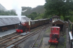 It was good to see steam back on passenger trains (despite the dreary weather) ...