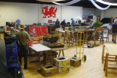 … although the exhibitors in the main hall still have a way to go!