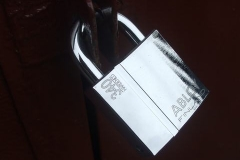 Some shiny new padlocks have made their appearance over the weekend.