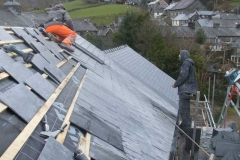 … as does slating work above.