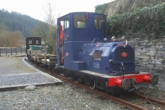 Sunday, 7.3.2021. No. 6 and works train pose at Corris while the Sundae Gang undertake P Way inspections and minor works …