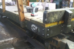 To finish off the job, the identification plate cast for it long ago, has at last been fixed in position!