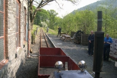 … so that it can work the Heritage Waggons up to Corris, and we already have some photographers!