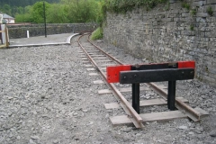 In Corris, great changes have taken place with track extended to where the Surgery once stood …