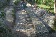 … but before then, more gabions need to be filled – urgently!