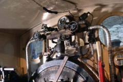 … and a couple of hours later, the steam manifold is back on No. 7, with all pipe work connected up.