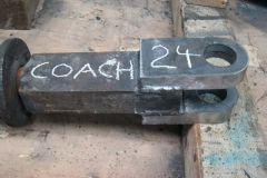 By the end of the day, Adrian has completed one new coupling for carriage No. 24 …