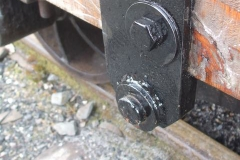 ... after a replacement brake hanger had been fabricated for one waggon after the original cast one broke.