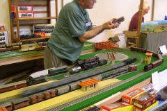 … as does the loco on this model!